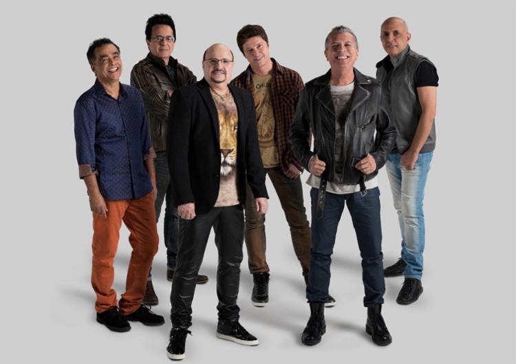 Roupa Nova se apresenta neste domingo, 4, na Concha Acústica - Foto: Divulgação