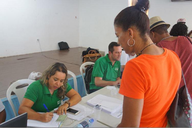 Defensores foram detalhar o andamento das ações e obter documentos dos envolvidos - Foto: Ingrid Carmo l Divulgação