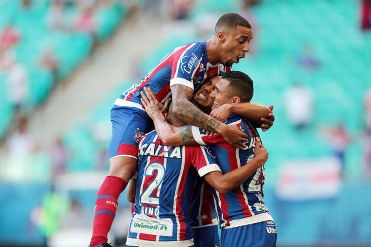 Esquadrão garante vaga e disputa o rival Vitória na final do Campeonato Baiano - Foto: Raul Spinassé   Ag. A TARDE
