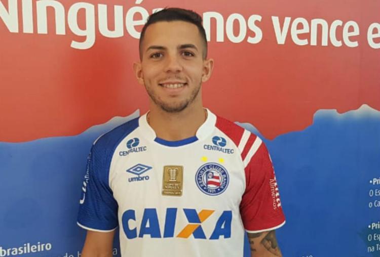 Inicialmente, Flávio chega ao Tricolor para atuar no Campeonato Brasileiro de Aspirantes - Foto: Divulgação | EC Bahia