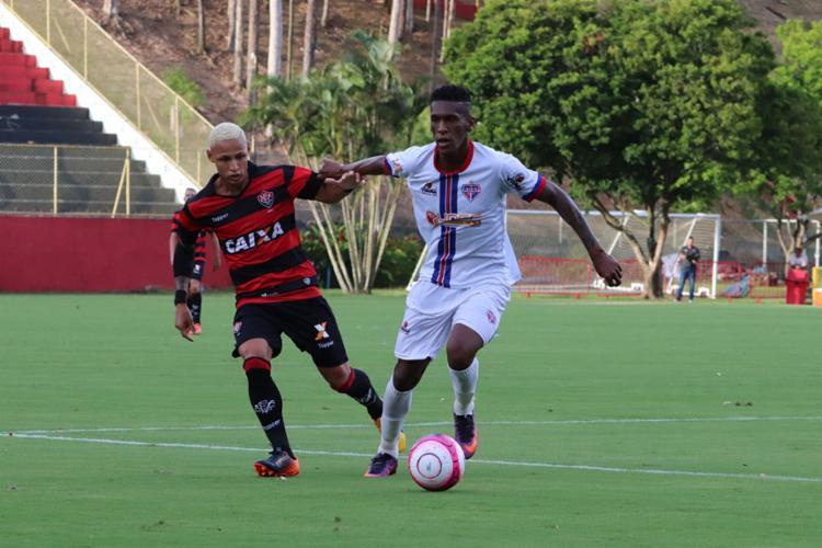 Leão tenta a defesa do tri diante do Bahia de Feira no domingo, 18 - Foto: Maurícia da Matta | EC Vitória