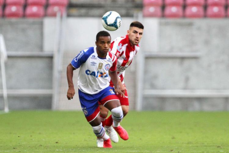 Tricolor fez mais uma partida sem criatividade diante do Timbu - Foto: Divulgação | Marlon Costa