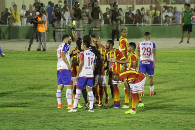 Empate beneficia o Tricolor, que joga em casa na próxima partida - Foto: Felipe Oliveira | Divulgação | ECBahia