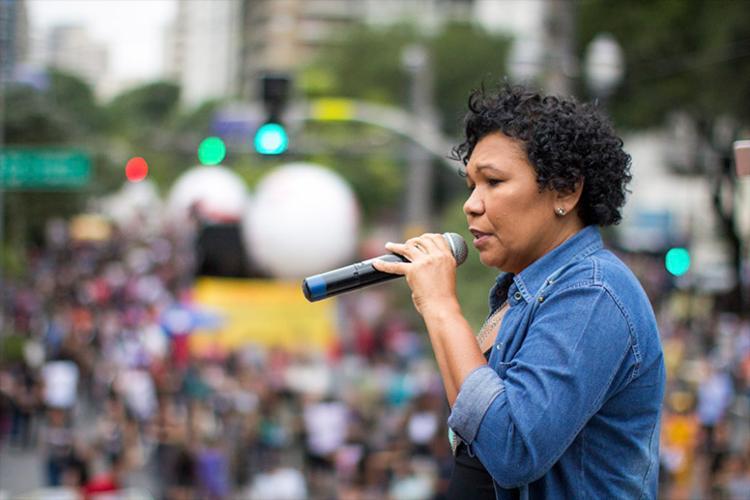 Vera é pré-candidata à Presidência da República pelo PSTU - Foto: Divulgação
