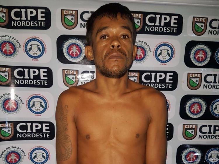 Suspeito tinha um mandado de prisão em aberto expedido pela Justiça de São Paulo - Foto: Divulgação | SSP