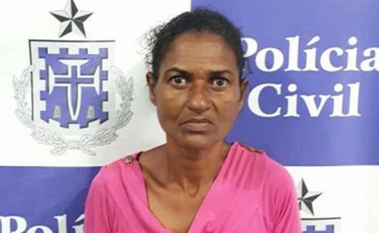 Evanilda Almeida pagou R$ 400 para ordenar execução de responsável pela morte do filho - Foto: Divulgação l Polícia Civil