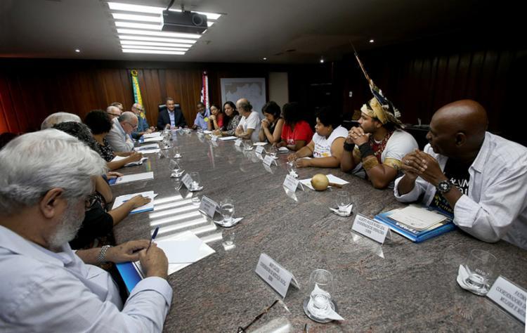 Reunião com Rui Costa para discussão dos detalhes do evento - Foto: Carol Garcia | GOVBA