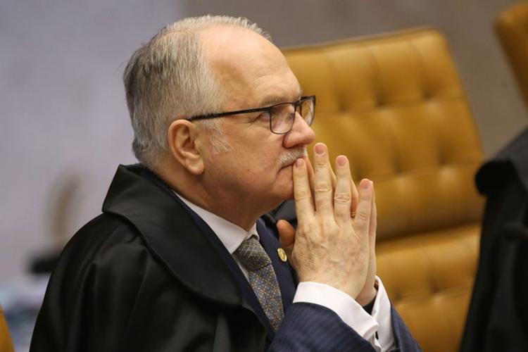 Ministro do Supremo e relator da Lava Jato afirma revela preocupação com segurança e diz que alertou presidente da Corte Cármen Lúcia - Foto: Antônio Cruz l Agência Brasil
