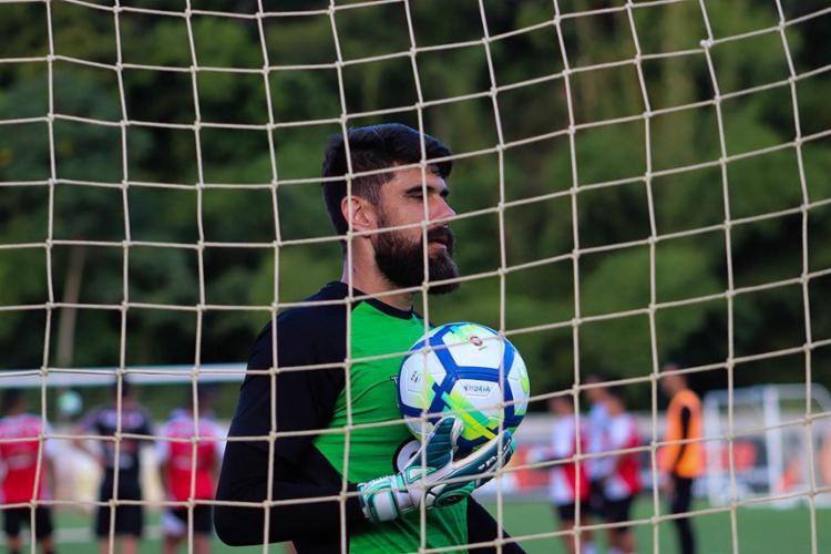 Goleiro do Leão criticou atitude do atacante tricolor - Foto: Maurícia da Matta l EC Vitória