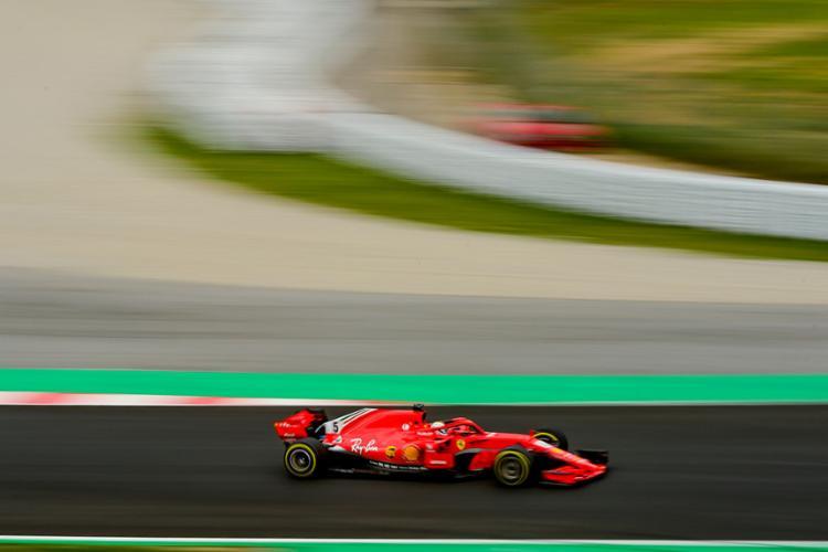 Alemão fez o novo recorde não oficial do Circuito da Catalunha - Foto: Josep Lago | AFP