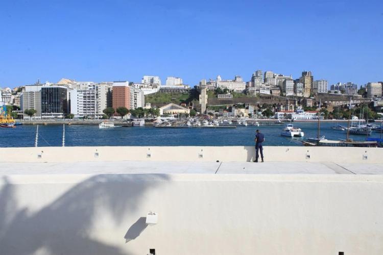 Fechado desde 2011, o forte passou por reforma que custou R$ 7,5 milhões - Foto: Xando Pereira / Ag. A TARDE - 18/11/2016
