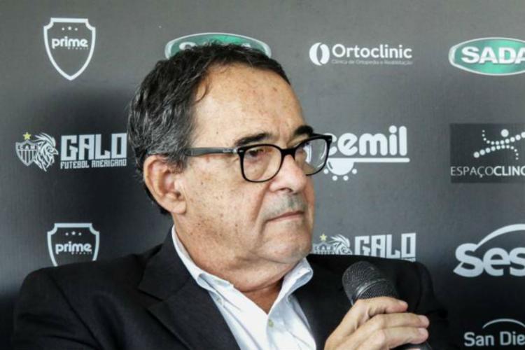 O dirigente integrava a nova diretoria do Atlético Mineiro - Foto: Bruno Cantini l Atlético-MG l Divulgação