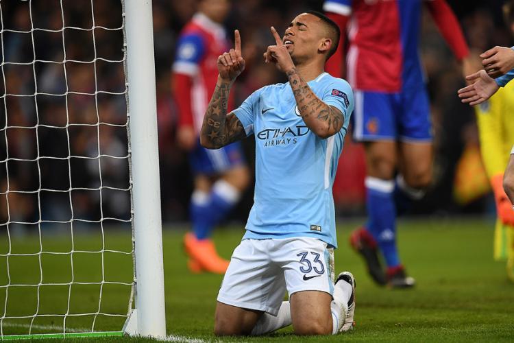 O atacante atuou os 90 minutos e foi responsável pelo gol da equipe logo aos sete minutos do primeiro tempo - Foto: Paul Ellis l AFP