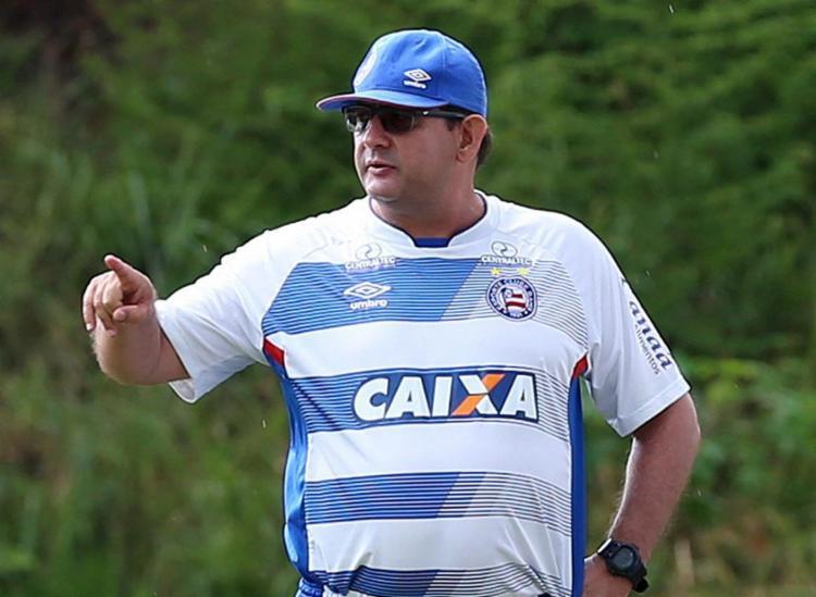 Técnico vem sofrendo com as vaias dos torcedores do Esquadrão - Foto: Felipe Oliveira l EC Bahia
