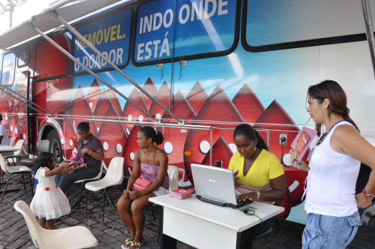 Expectativa da Hemoba é aproveitar o fluxo de pessoas para captar novos doadores - Foto: Divulgação