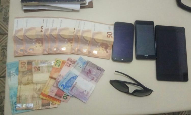 Objetos foram recuperados pela polícia - Foto: Divulgação | Polícia Militar