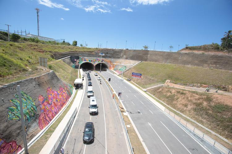 Túneis têm, ao todo, 5km de extensão - Foto: Alessandra Lori | Ag. A TARDE