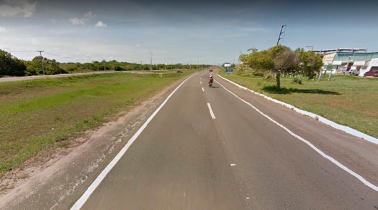 Incidente aconteceu próximo da localidade conhecida como Sangradouro, em Arembepe - Foto: Reprodução | Google Maps