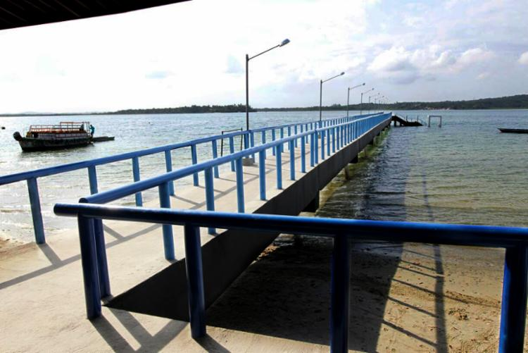 A recuperação do terminal de Mutá contou com um investimento de R$ 828 milhões - Foto: Camila Souza/GOVBA