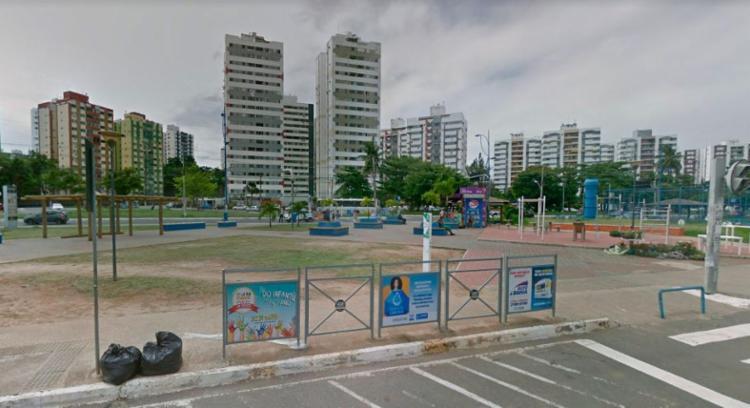 Acidente aconteceu nas proximidades da Praça do Imbuí - Foto: Reprodução   Google Maps