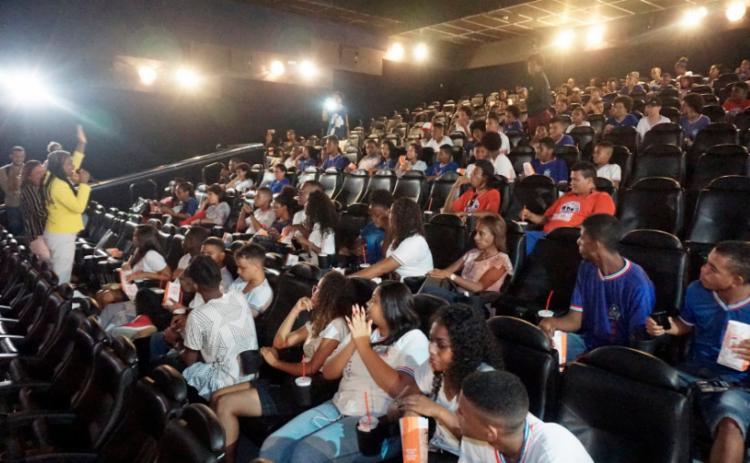 Exibição,teve como objetivo proporcionar aos jovens uma reflexão sobre a representatividade e empoderamento - Foto: Divulgação | MP-BA