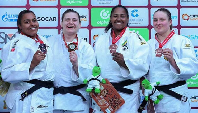 Brasil ganhou medalhas de ouro, prata e bronze - Foto: Divulgação