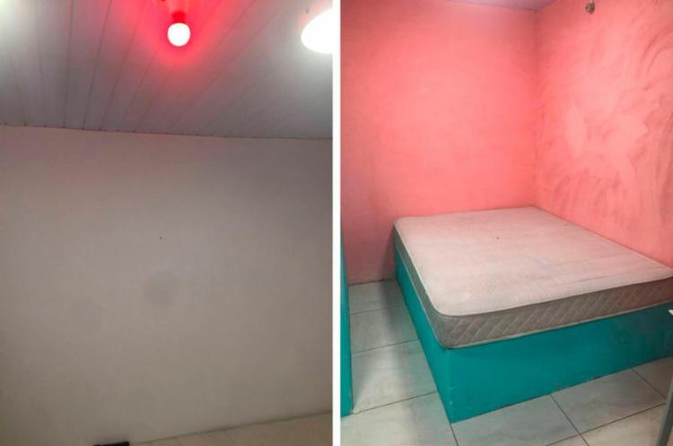 MPE encontrou suítes decoradas com paredes coloridas - Foto: Divulgação | MPE