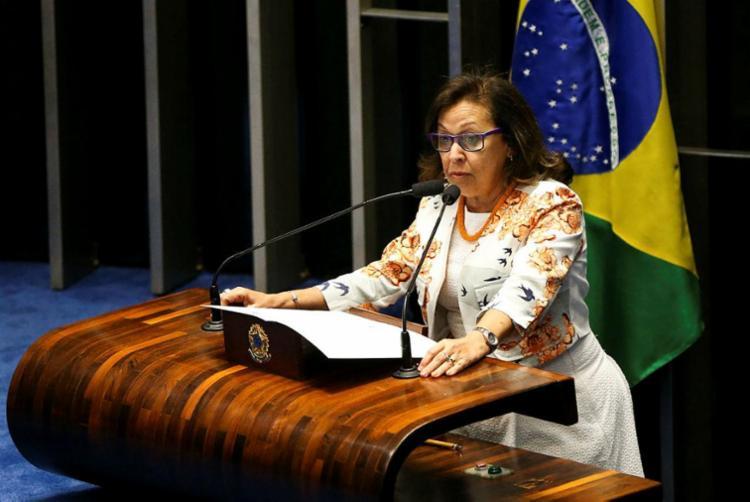 Lídice disse que a possibilidade de abrir mão do Senado para ocupar a presidência do Legislativo não passa de especulação - Foto: Marcelo Camargo | Agência Brasil