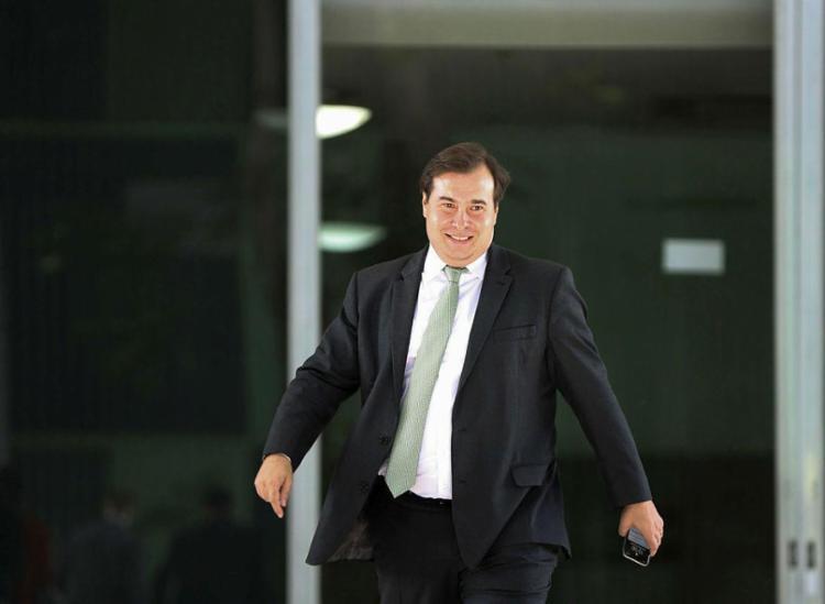 Maia deve ser lançado como pré-candidato à presidência da República na próxima quinta - Foto: Marcelo Camargo | Agência Brasil