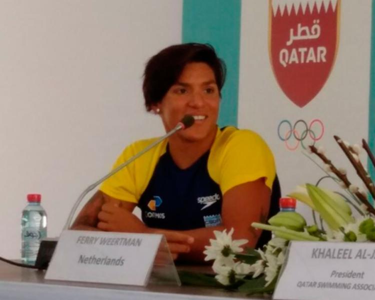 Baiana é a melhor atleta de águas abertas do mundo - Foto: Reprodução | CBDA