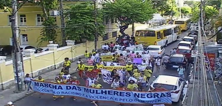 Marcha das Mulheres Negras acontece nesta quarta como programação do 13º Fórum Social Mundial - Foto: Divulgação | Transalvador