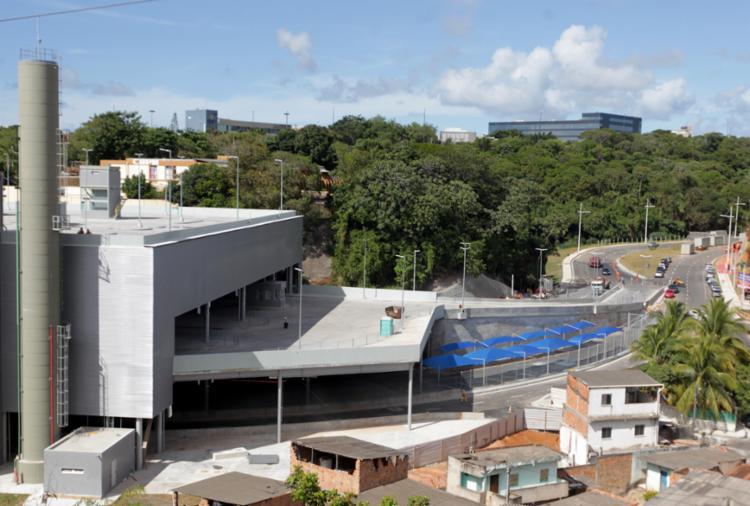Terminal possui 24.320,23 m² de área construída - Foto: Divulgação | Secom