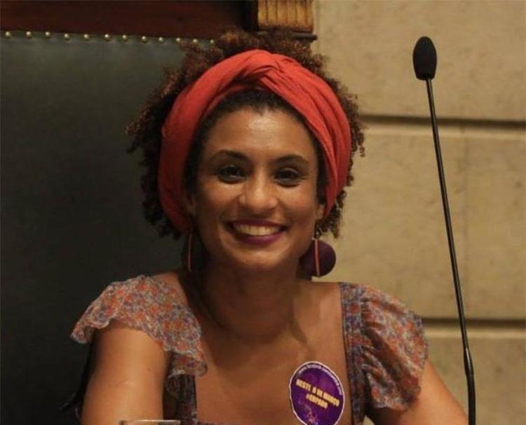 Marielle voltava de um evento quando foi assassinada dentro do carro - Foto: Reprodução   Facebook
