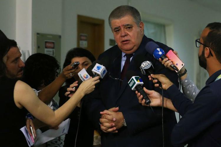 Ministro da Secretaria de Governo deve se licenciar do cargo para apresentar pessoalmente no Congresso representação contra o ministro do STF - Foto: José Cruz l Agência Brasil