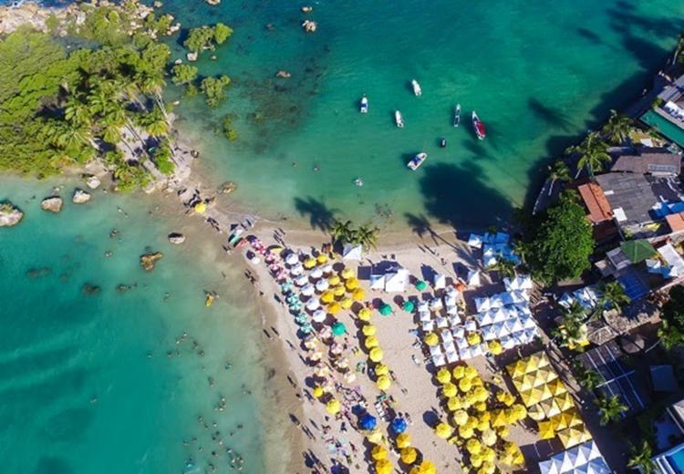 De acordo com o Ministério do Turismo, em 2017, o Nordeste foi o destino mais escolhido pela maioria dos brasileiros - Foto: Elton Andrade/Divulgação