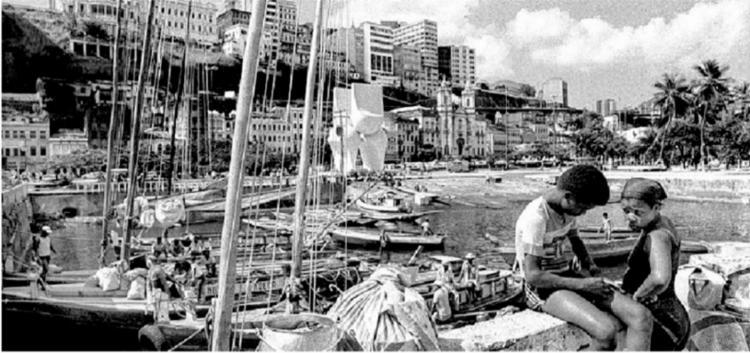 A antiga rampa do Mercado Modelo é uma das fotos de Luciano Andrade que podem ser visitadas - Foto: Luciano Andrade
