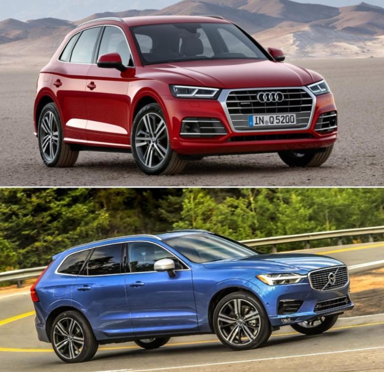 Volvo surpreende no quesito luxo, enquanto Audi manda melhor na esportividade - Foto: Divulga