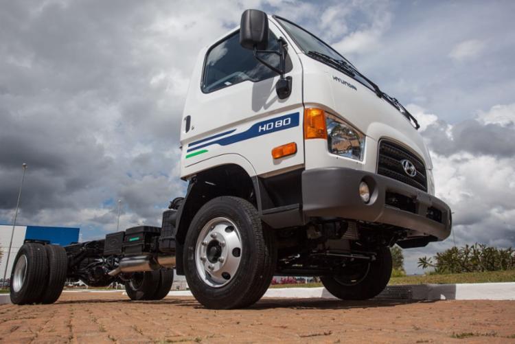 Novo HD 80 ao preço único de R$ 118,8 mil - Foto: Divulgação