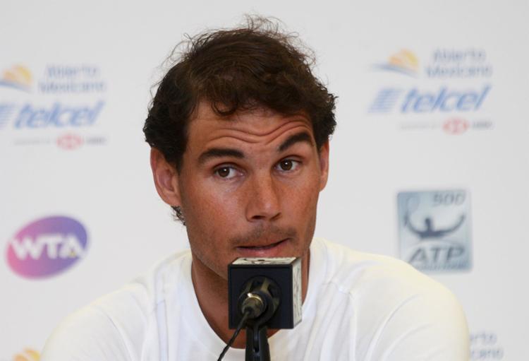 Tenista atuou em somente um torneio nesta temporada, justamente o Aberto da Austrália, que precisou abandonar após a lesão na coxa - Foto: Francisco Robles l AFP