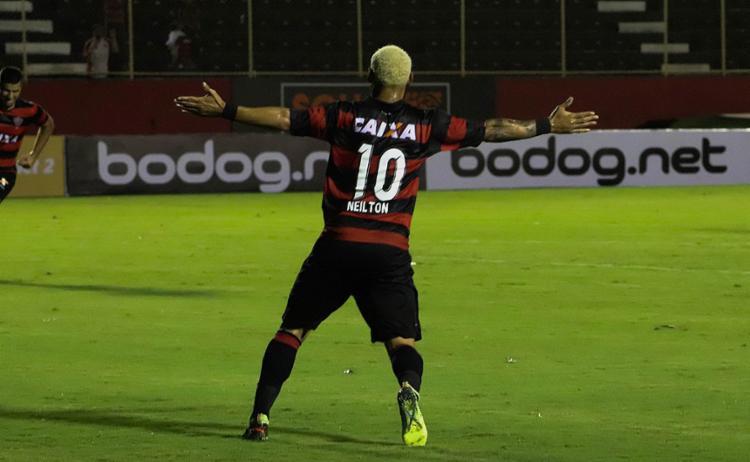 Atacante fez oito gols de perna direita e três de esquerda - Foto: Maurícia da Matta l EC Vitória