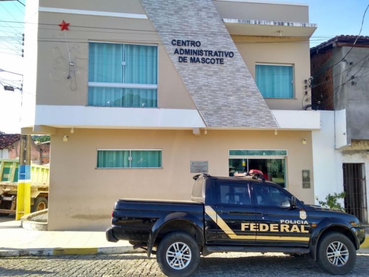 Um dos principais alvos da operação é um servidor da prefeitura de Mascote - Foto: Divulgação | Polícia Federal