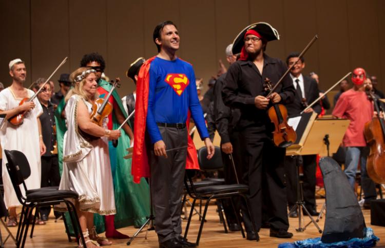 Cine Concerto reúne algumas das trilhas sonoras mais famosas do cinema mundial - Foto: Divulgação
