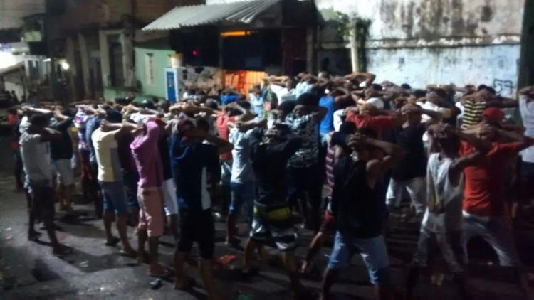 Evento não tinha autorização para acontecer, segundo a PM - Foto: Divulgação | SSP