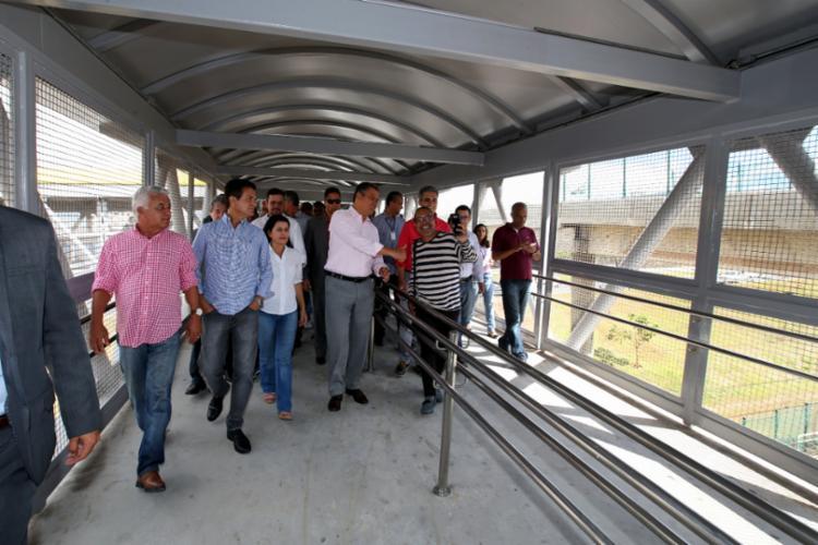Inauguração foi feita pelo governador Rui Costa