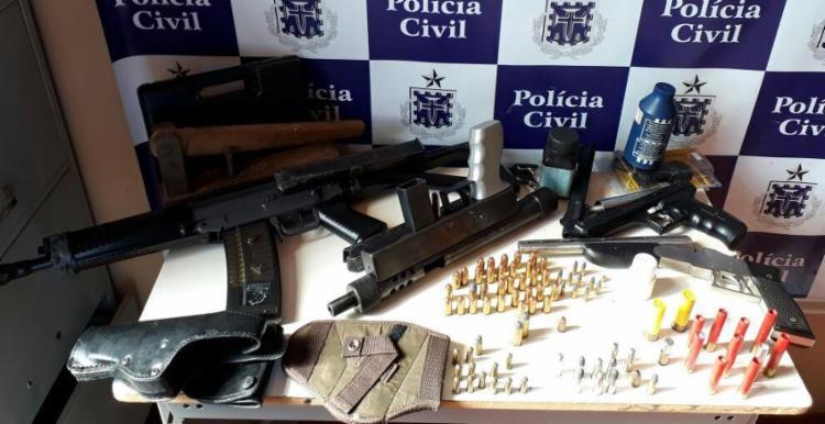 Material foi localizado em um imóvel - Foto: Divulgação   Polícia Civil