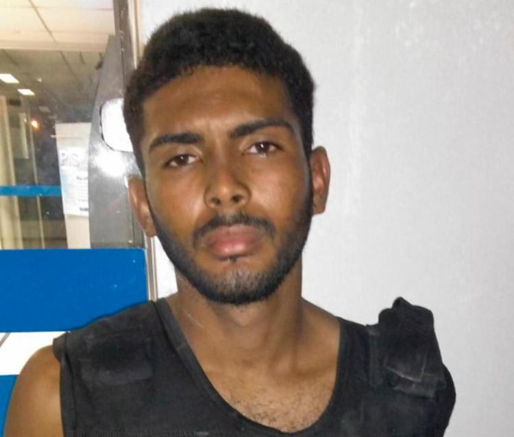 Nivaldo foi capturado enquanto tentava sair da unidade - Foto: Divulgação | SSP