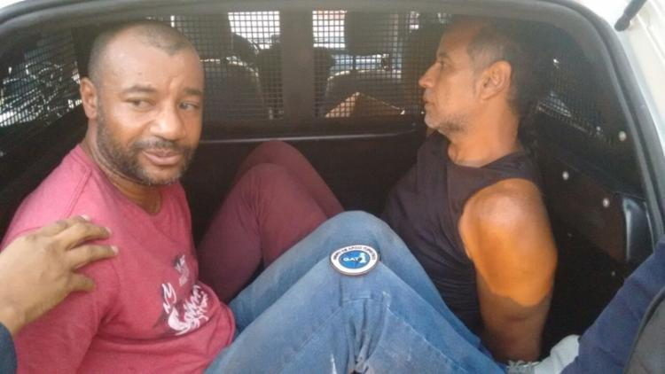 Eles tentaram fugir mas ambos foram detidos pela Guarda Civil Municipal - Foto: Divulgação | Guarda Civil