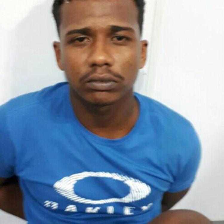 Ícaro da Costa Santos possuía mandado de prisão em aberto - Foto: Divulgação   SSP-BA