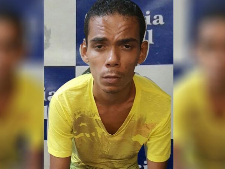 Ailton já havia sido preso em 2016 por tráfico de drogas - Foto: Divulgação   Polícia Civil