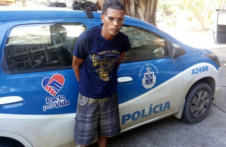 Suspeito teria estuprado as sobrinhas desde que elas tinham 8, 10 e 12 anos - Foto: Divulgação | Polícia Civil